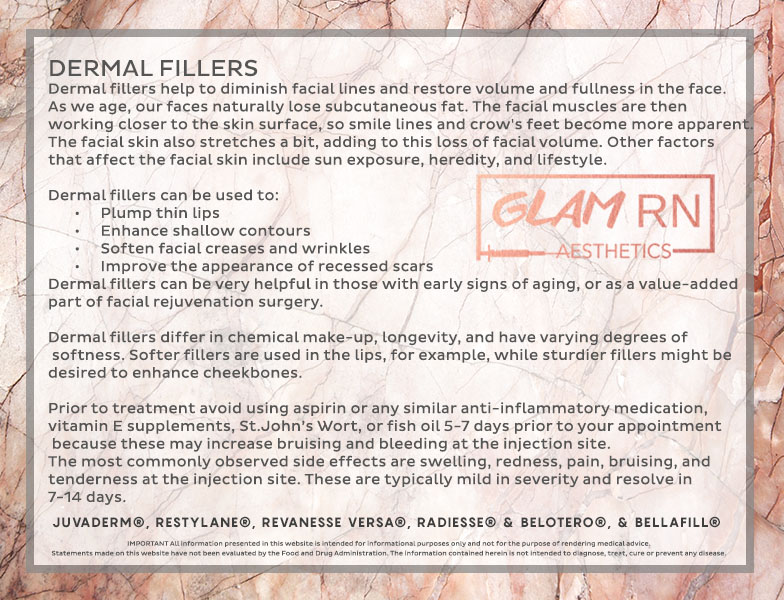 Glam RN   MEDICAL AESTHETICS, COSMETIC INJECTIONS AND FILLER
